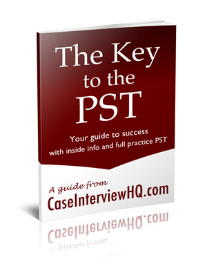 McKinsey PST Problem Solving Test practice book